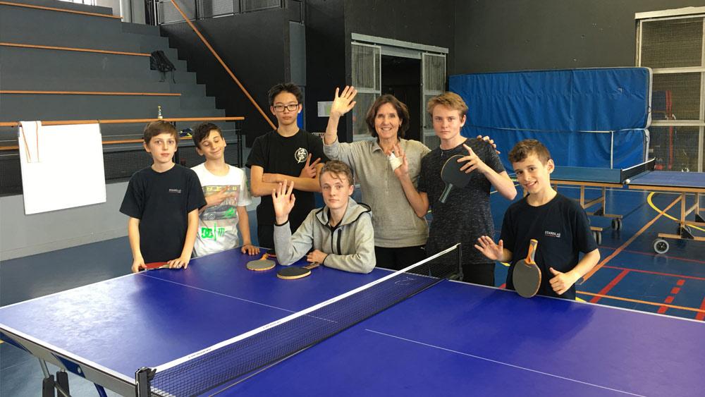 Stanislas cannes stanislas vainqueur du championnat par - Championnat d europe de tennis de table ...