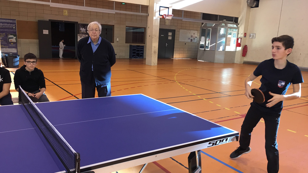 Formation Arbitrage en tennis de table
