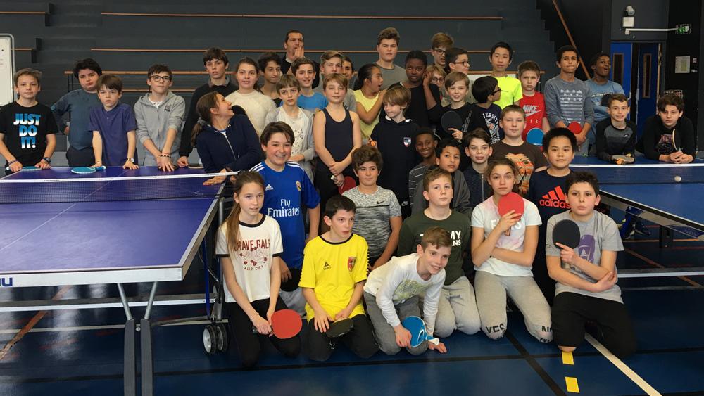 Stanislas cannes championnat inter coll ge en tennis de - Championnat d europe de tennis de table ...