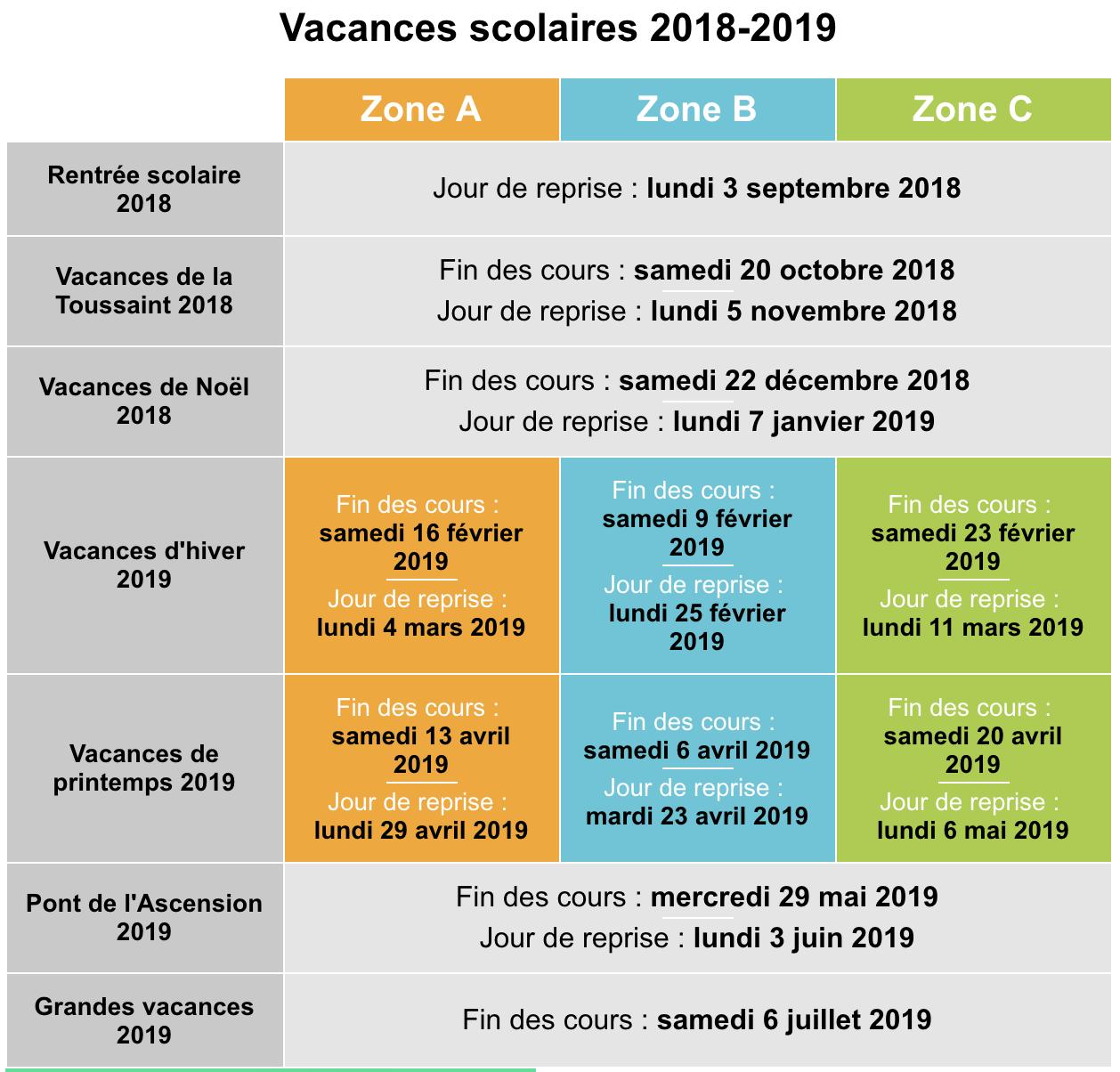 Calendrier Vacances Scolaire 2019 2020.Stanislas Cannes Vacances Scolaires