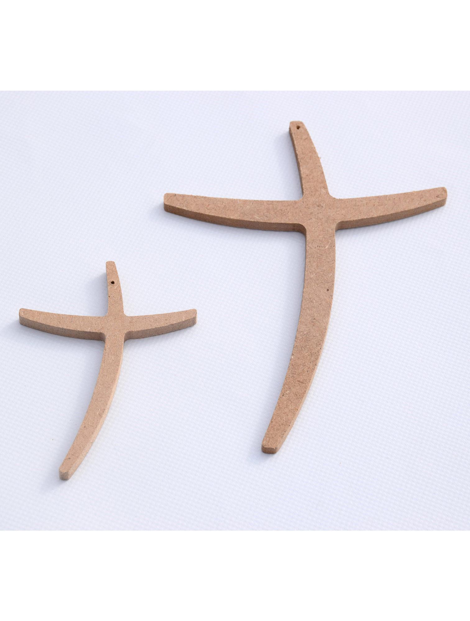 objets croix en bois grande. Black Bedroom Furniture Sets. Home Design Ideas